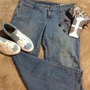 NWOT GAP Curvy Stretch Boot Cut Jeans Size 14R